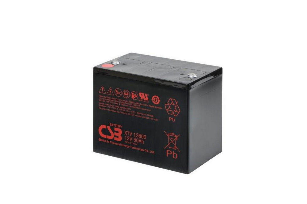 HITACHI CSB XTV12800 80AH